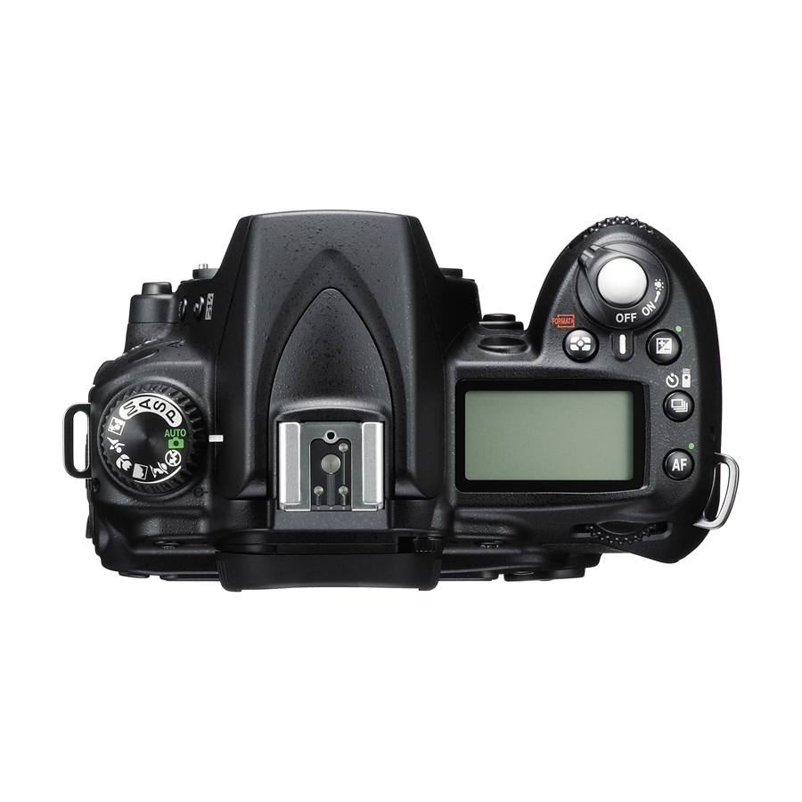 Nikon D90 Digital SLR Camera Top