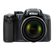 NIKON COOLPIX P510 SILVER 16.1MP 42X WIDE ANGLE 3""