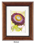 YALE 8X12 DIGITAL WALNUT FRAME