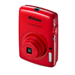 NIKON COOLPIX S01 RED 10.1MP 3X 2.5&quot;LCD
