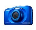 NIKON COOLPIX W100 BLUE 13.2MP 3X WATERPROOF
