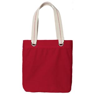 Allie Tote in Sangria