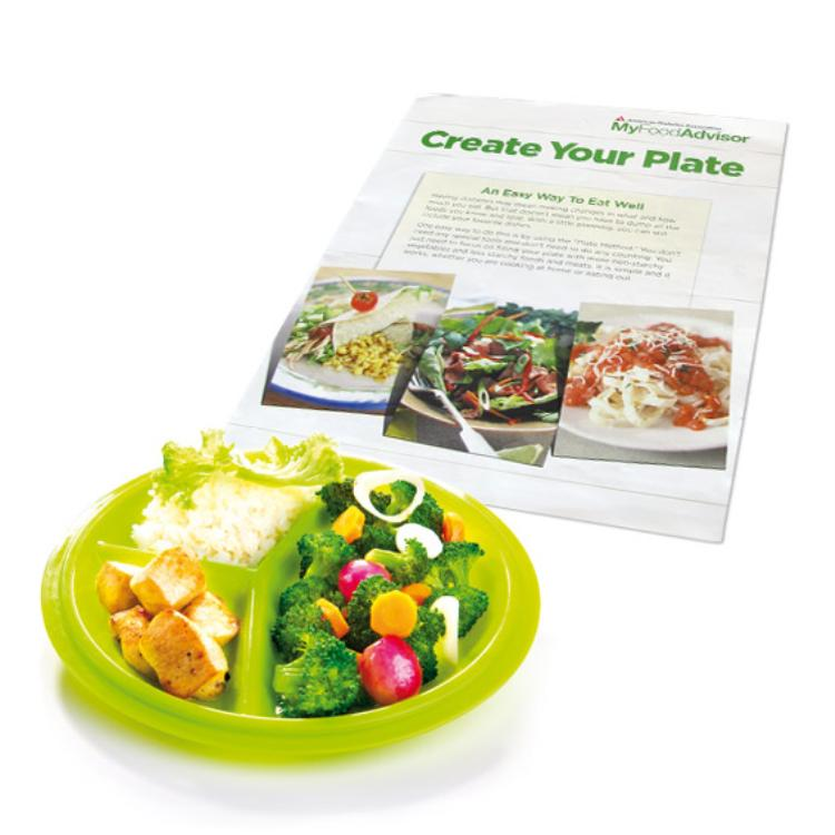 Portion Control Travel Plate with Lid  sc 1 st  ShopDiabetes.org & Meal Planning Tools | Store from the American Diabetes Association®
