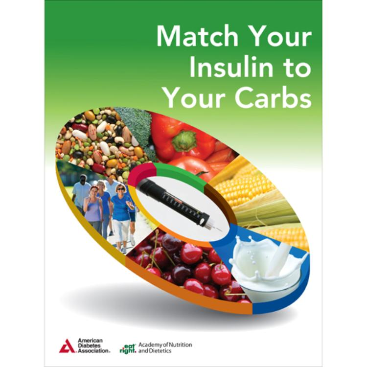 Nutrition store from the american diabetes association match your insulin to your carbs 3rd edition 10pkg fandeluxe Choice Image