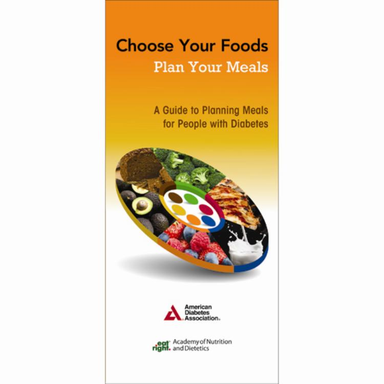 Nutrition store from the american diabetes association choose your foods plan your meals 2nd edition 25pkg fandeluxe Choice Image