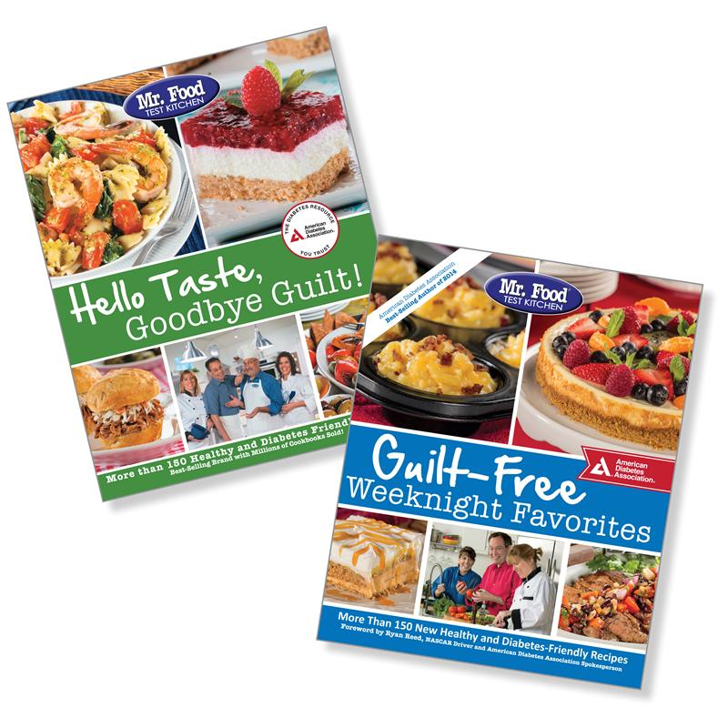 Set Mr Food Test Kitchen Guilt Free Weeknight Favorites Hello