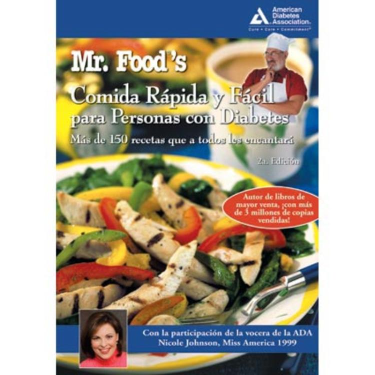 Mr foods quick easy diabetic cooking spanish 2nd edition mr foods quick easy diabetic cooking spanish 2nd edition comida rapida y forumfinder Gallery