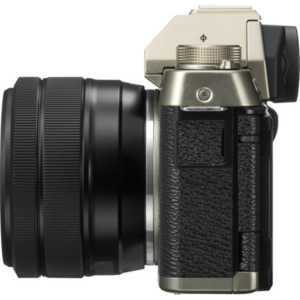 Fujifilm X T100 W Xc 15 45 Champagne Body Xf35mm F2 Gold Kamera Mirrorless