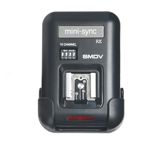 SMDV mini-sync Flash Trigger (RX Only)