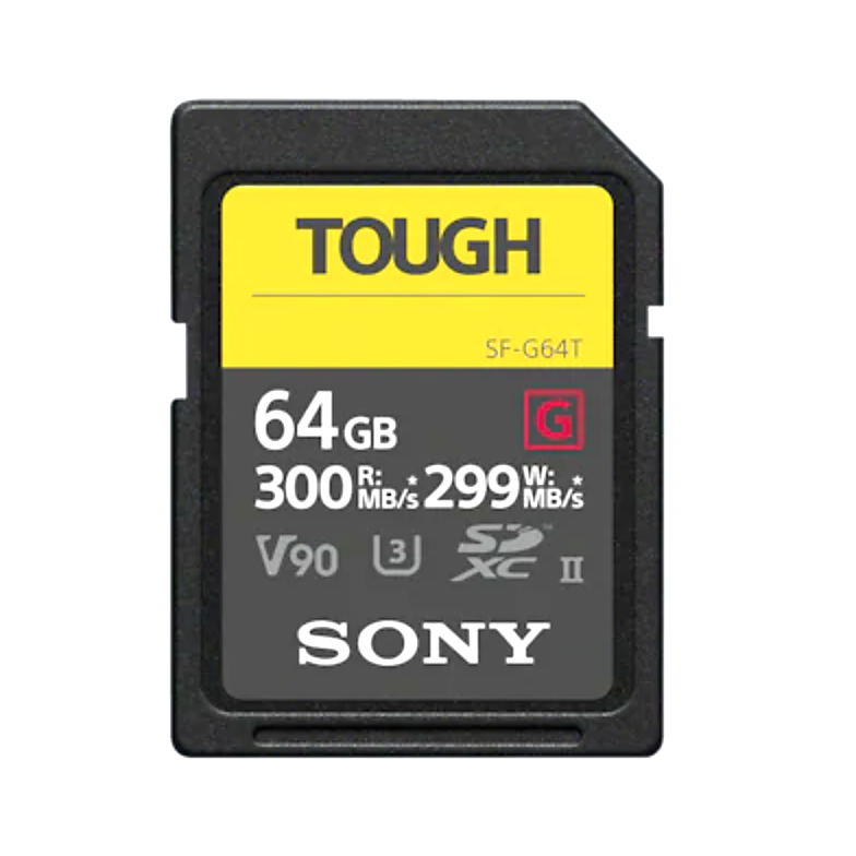 Sony 64GB SDXC SF-G TOUGH Card