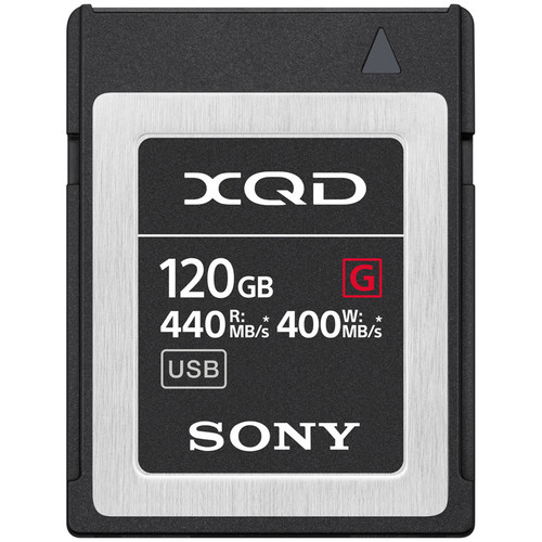 Sony 120GB XQD-G Series Memory Card