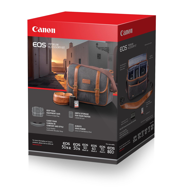 Canon Premium Accessory Kit (LP-E6N Battery, Bag, 128GB Card)