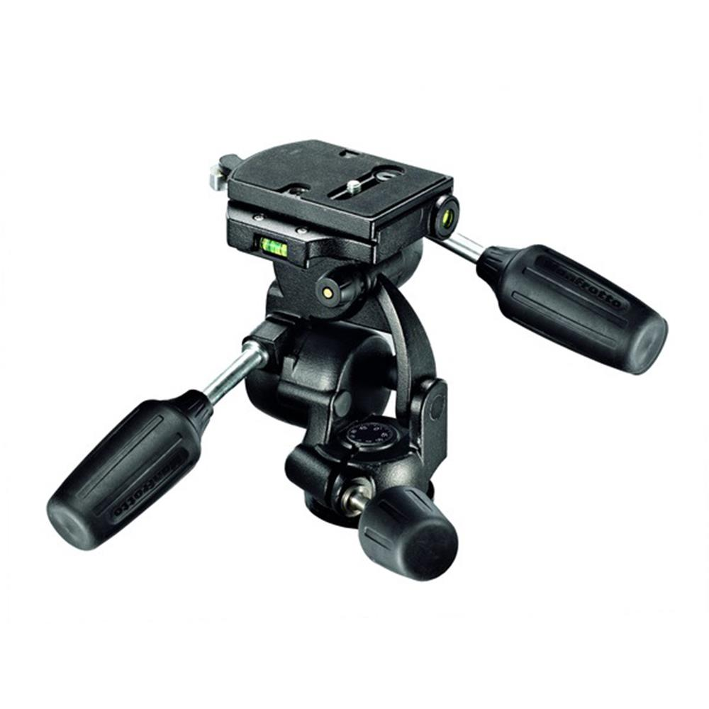 MANFROTTO 808RC4 3-WAY HEAD W/QR PLATE