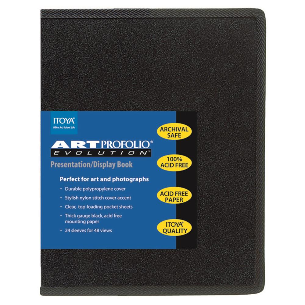 ITOYA 8.5X11 EVOLUTION PORTFOLIO BOOK