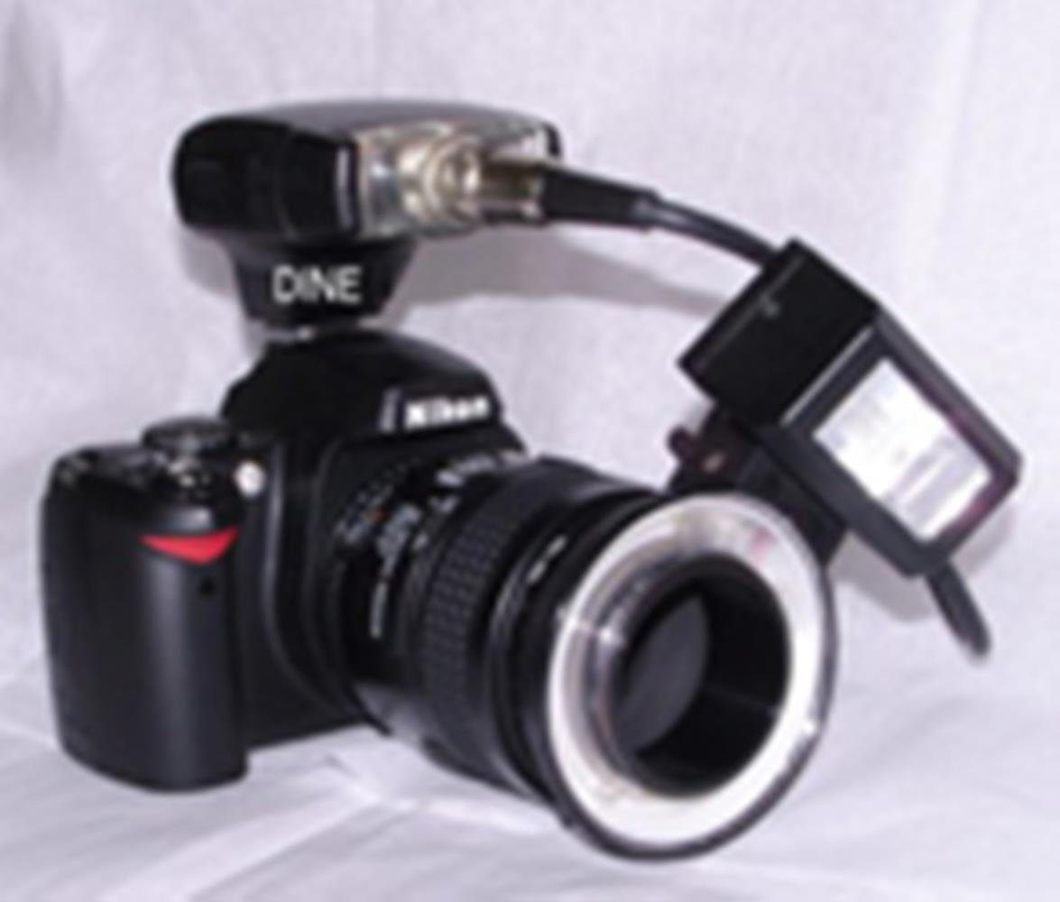 LESTER DINE MINI DENTAL FLASH - NIKON