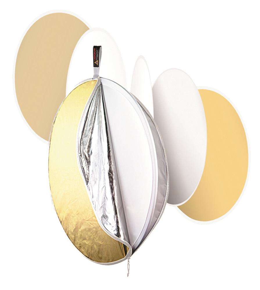 "PHOTOFLEX 32"" MULTIDISC 5 IN 1 REFLECTOR"
