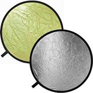 "BOWENS 42"" SILVER/GOLD DISC REFLECTOR"