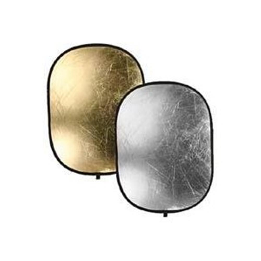 "BOWENS 36X48"" SILVER/GOLD DISC REFLECTOR"