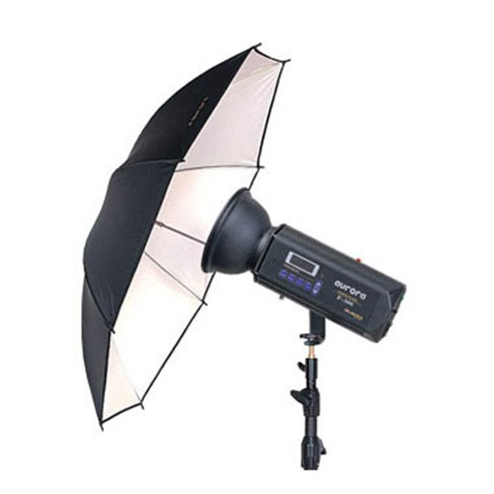 "AURORA 34"" WHITE UMBRELLA U-85A"