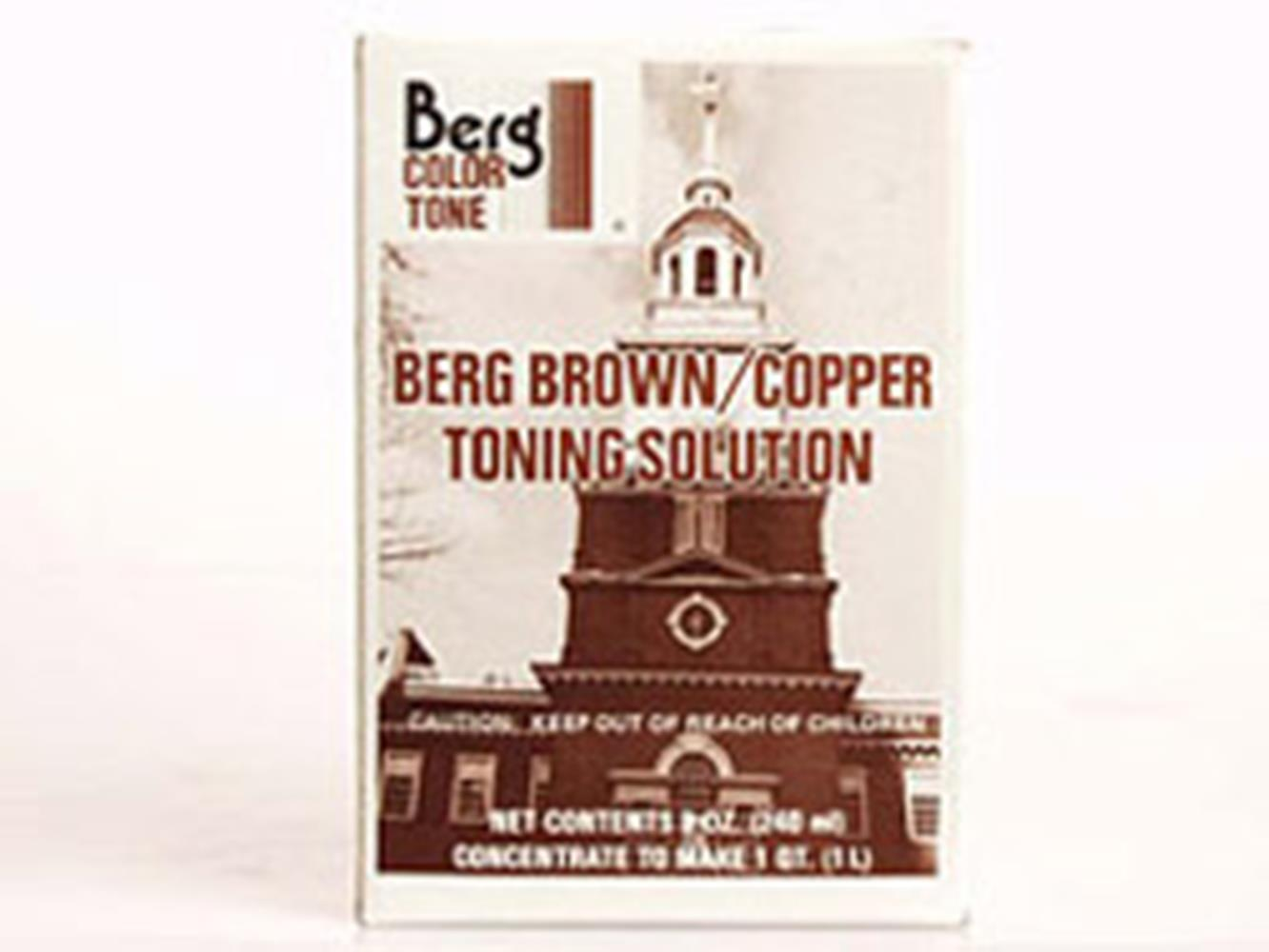 BERG BROWN/COPPER TONER