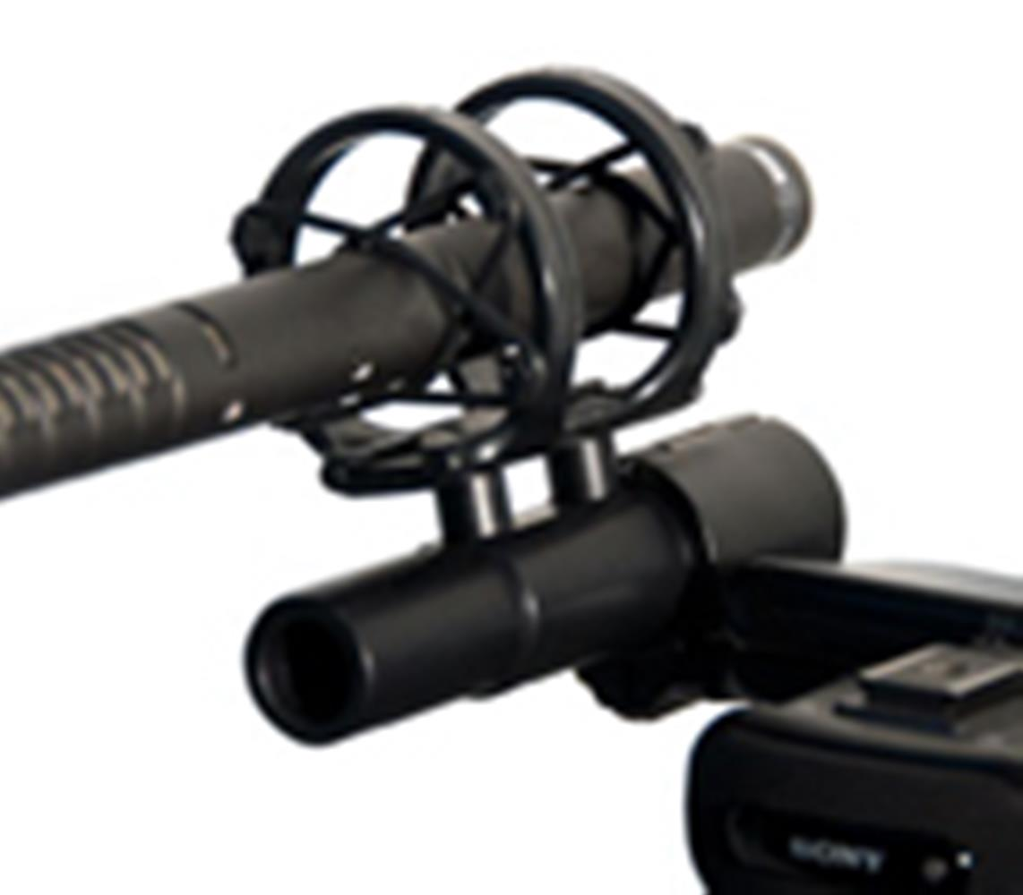 RODE SM5 SHOCKMOUNT (SHOTGUN MIC MOUNT)
