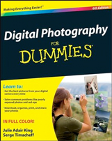 DIGITAL PHOTOGRAPHY FOR DUMMIES 6TH ED