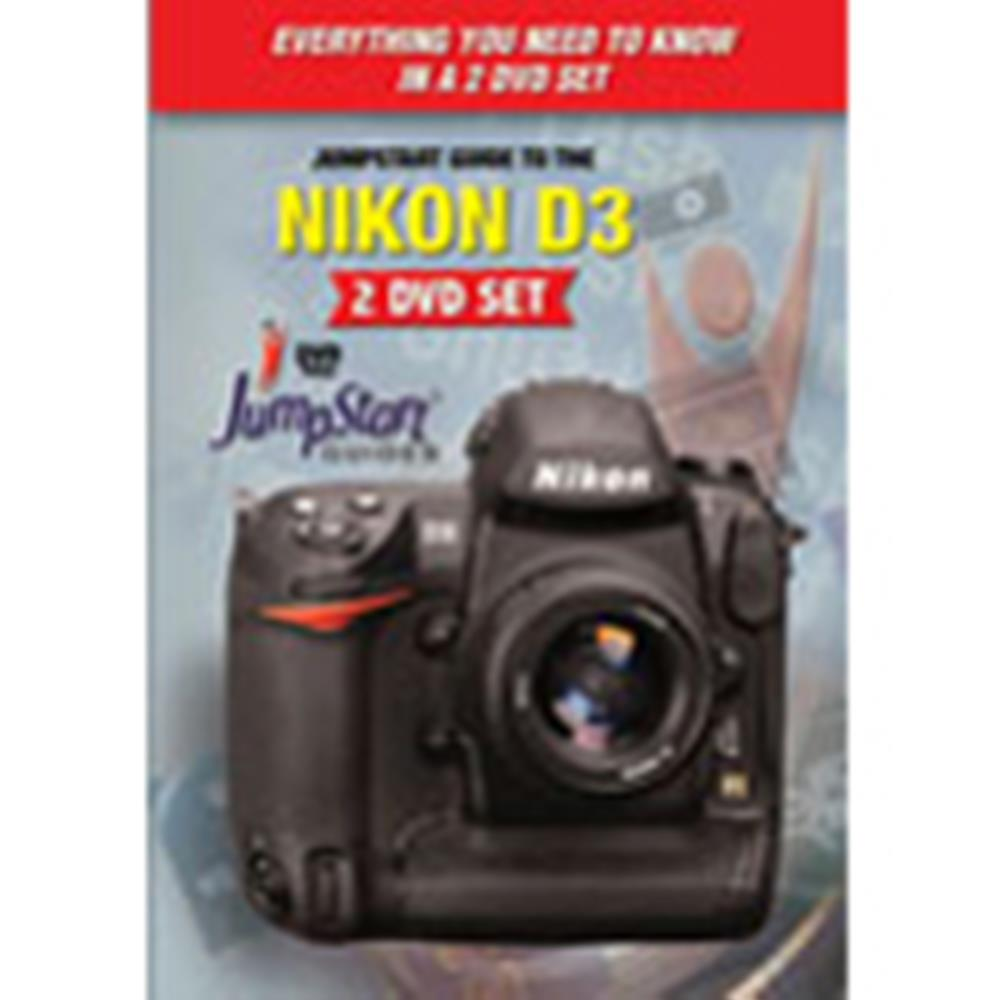 JUMPSTART DVD GUIDE: NIKON D3 2-DVD SET