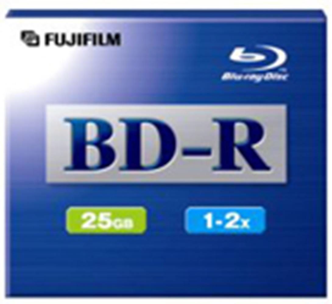 FUJI BLU-RAY BD-R 25GB 2X JEWEL CASE 1PC