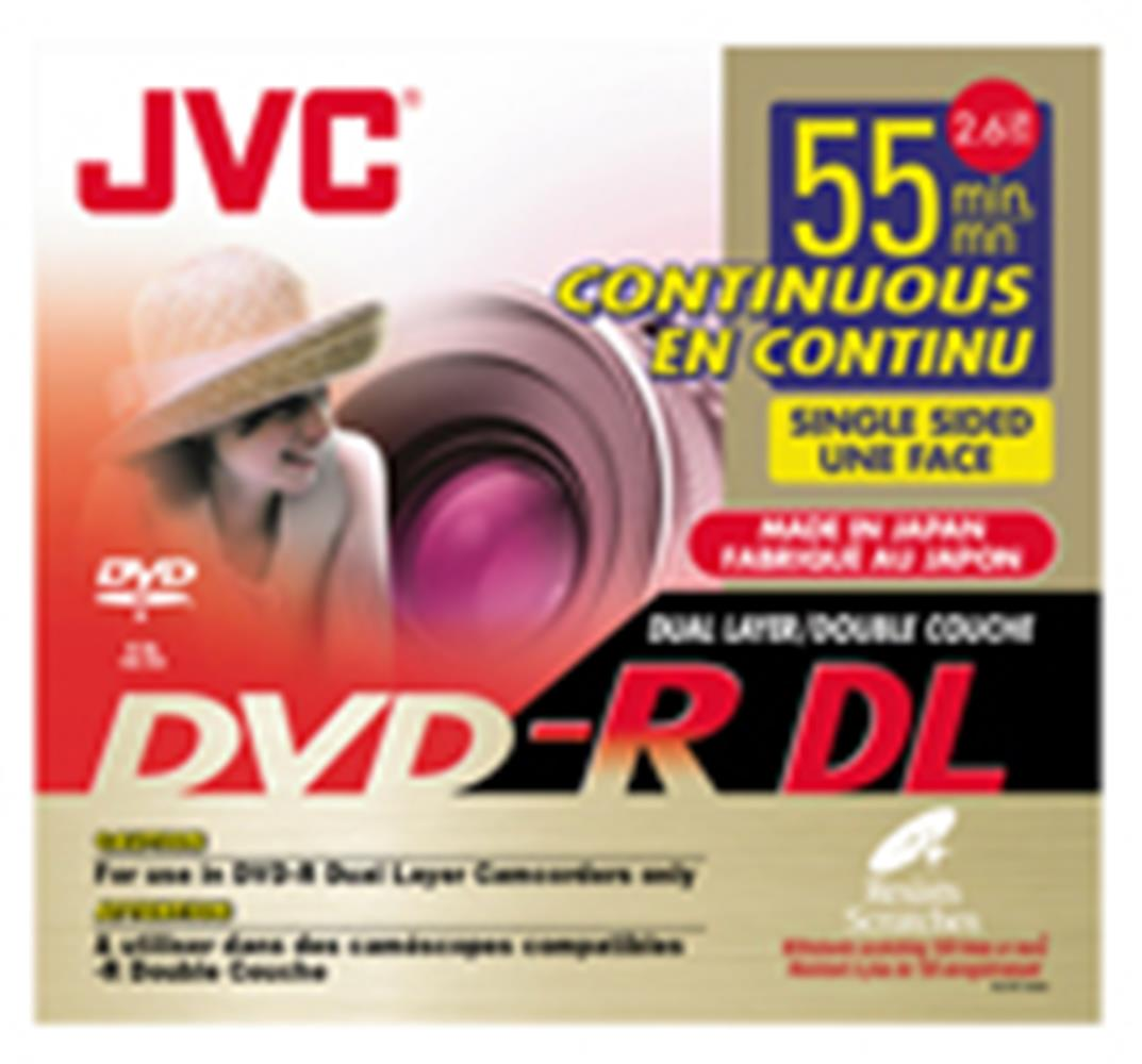 JVC DUAL LAYER 8CM DVD-R CAMERA VD-RDL26GU