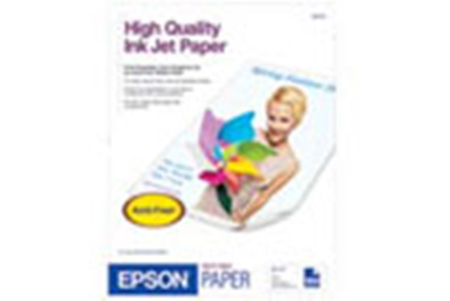 EPSON HIGH QUALITY PAPER 8.5X11 100STS