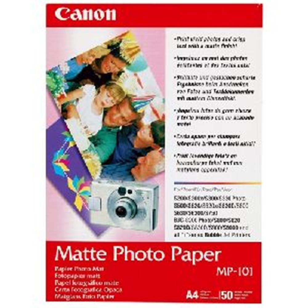 CANON PHOTO PAPER MATTE MP-101 4X6 120SH