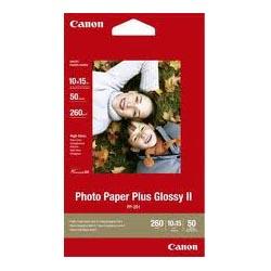 CANON PP 4X6 PHOTO PLUS GLOSSY II 50SH