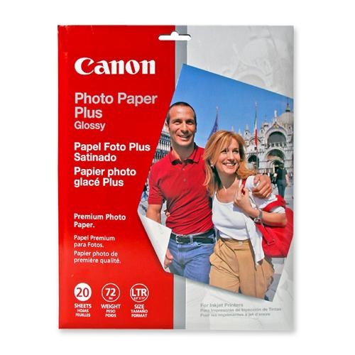 CANON PP 8.5X11 PHOTO PLUS GLOSSY II 20S