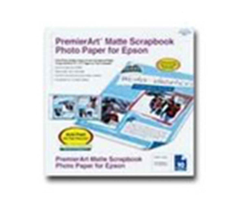 Scrapbook paper canada - Epson Matte Scrapbook Paper 8 5x12 10sh