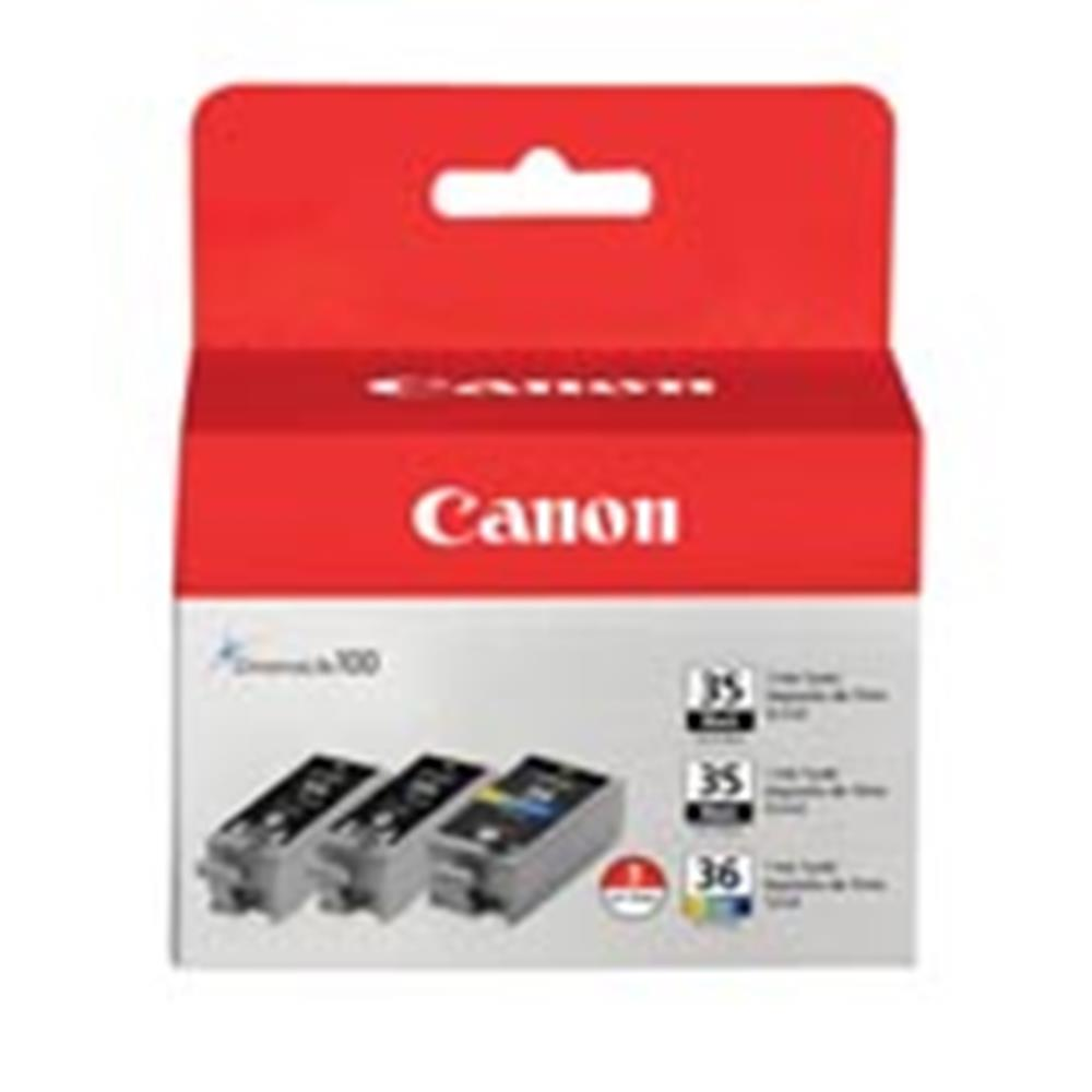 CANON CLI-36 VALUE PACK INK & PAPER