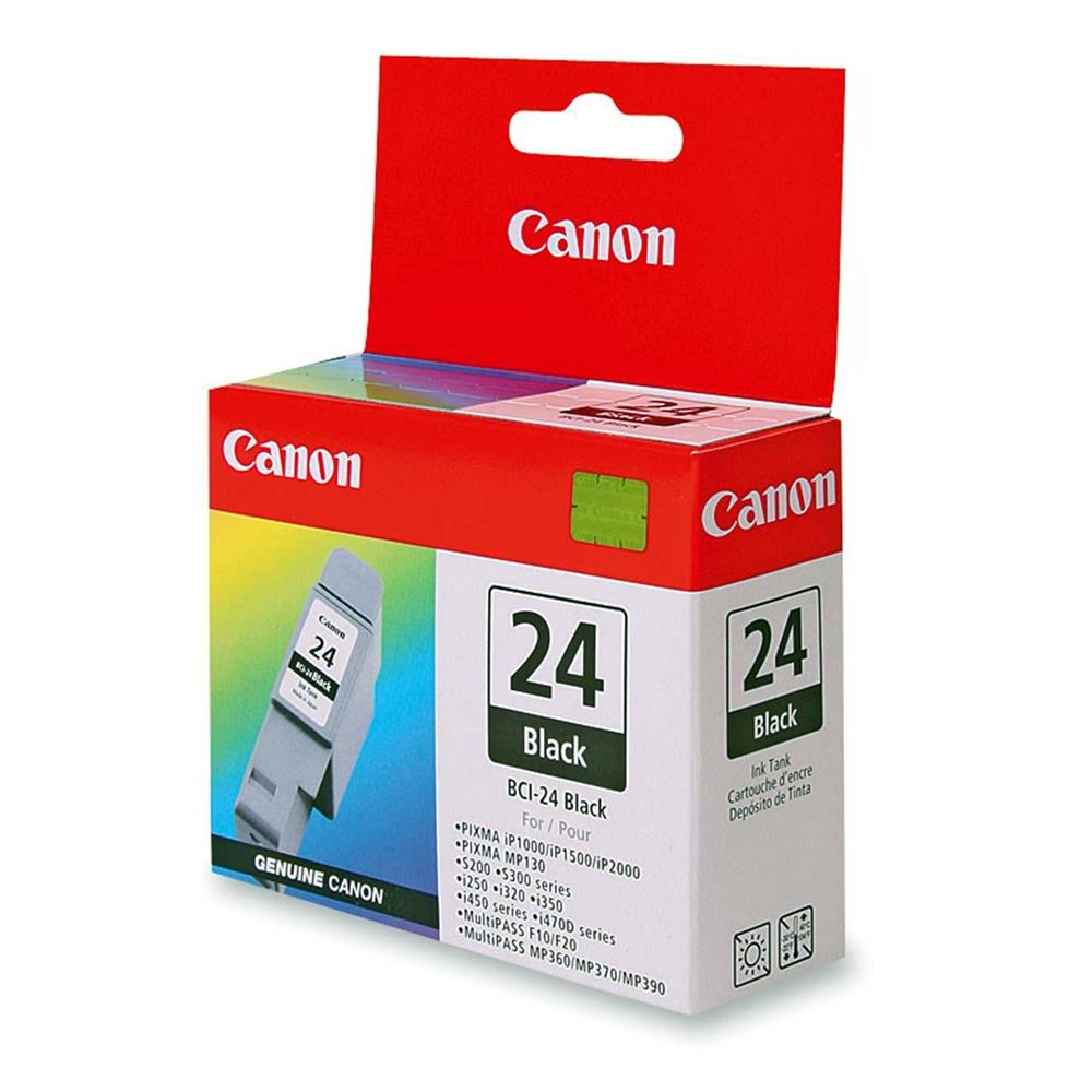 CANON BCI-24 BLACK INK CARTRIDGE