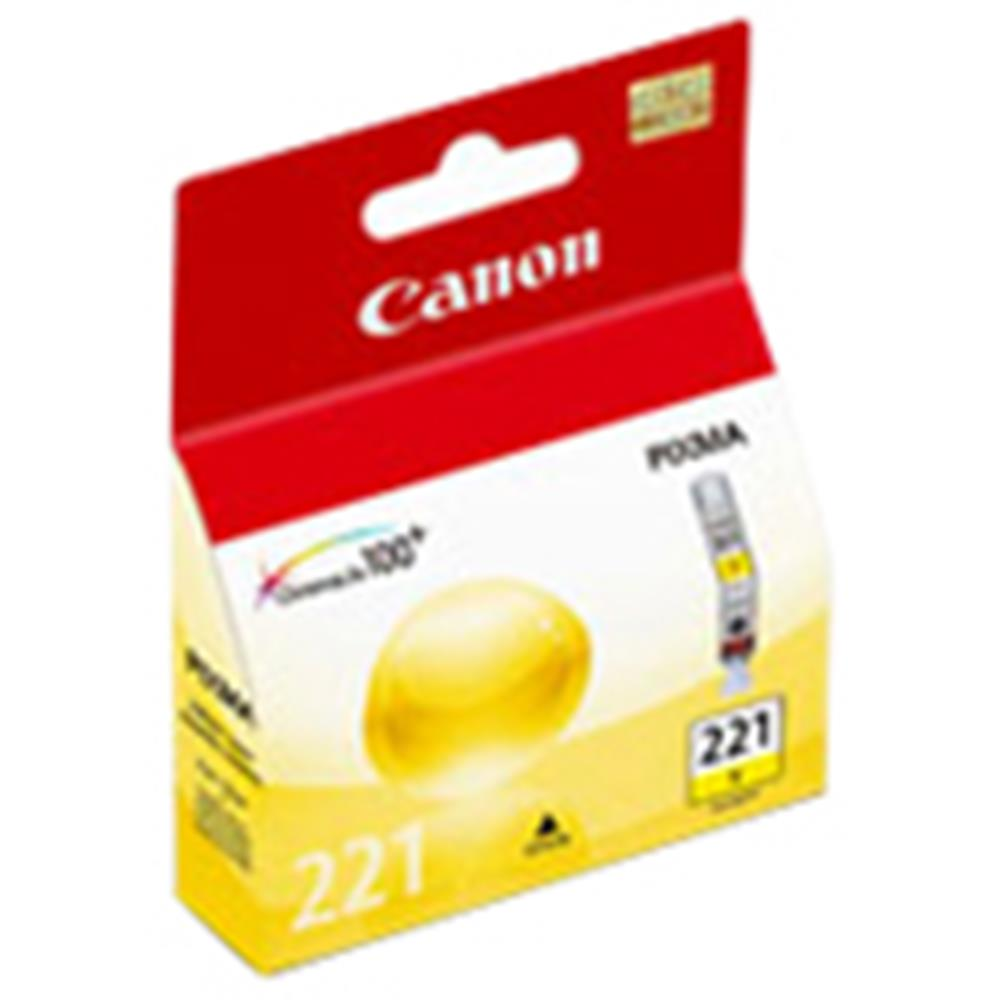 CANON CLI-221Y YELLOW CARTRIDGE