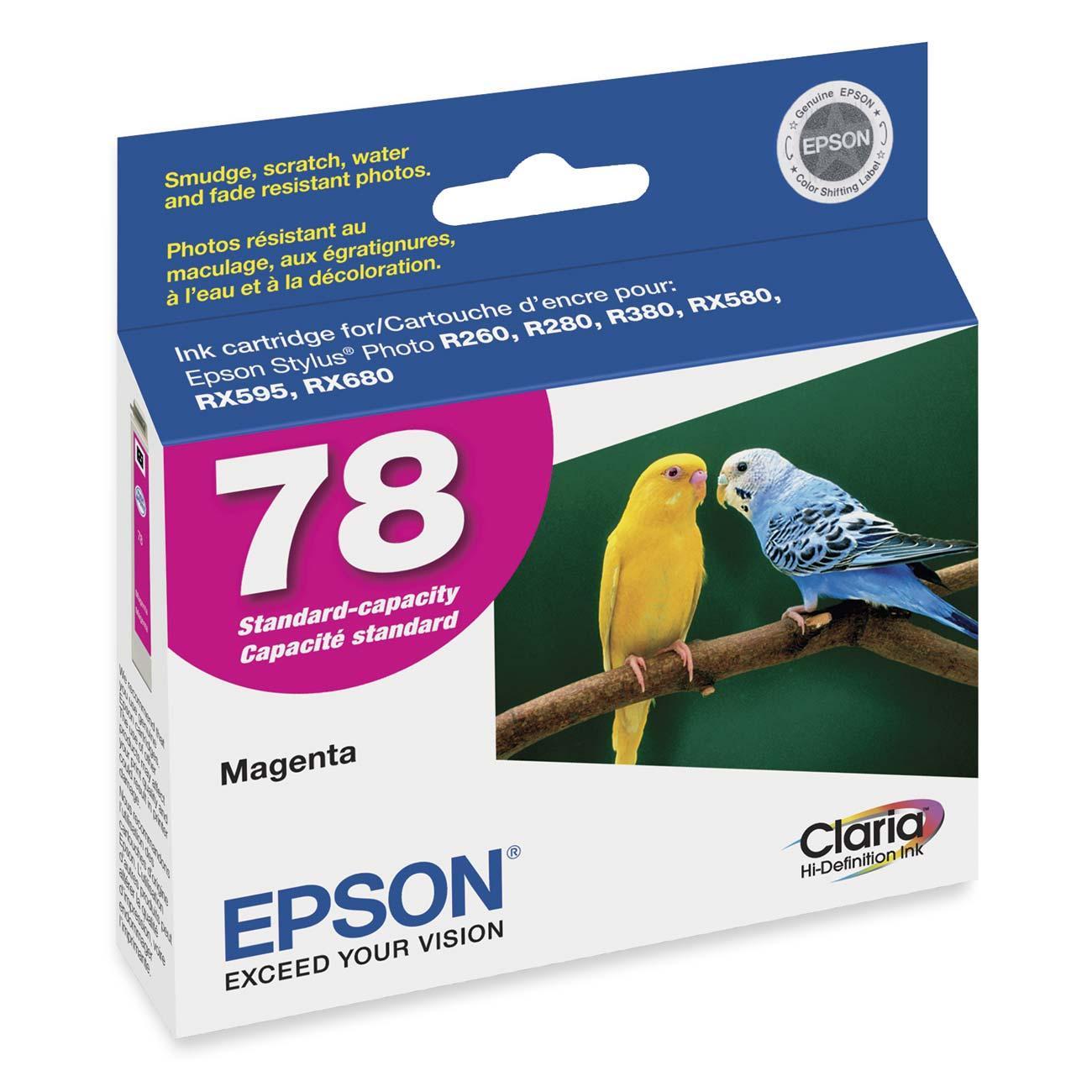 EPSON 78 MAGENTA INK CARTRIDGE (T078320)
