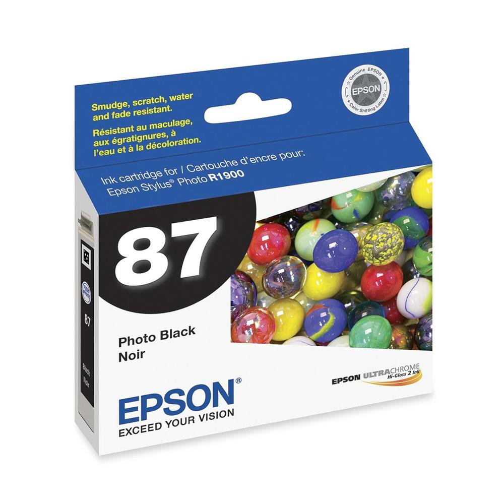 EPSON 87 PHOTO BLACK INK (T087120)R1900