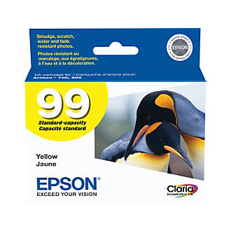 EPSON 99 YELLOW INK (T099420) 700/800