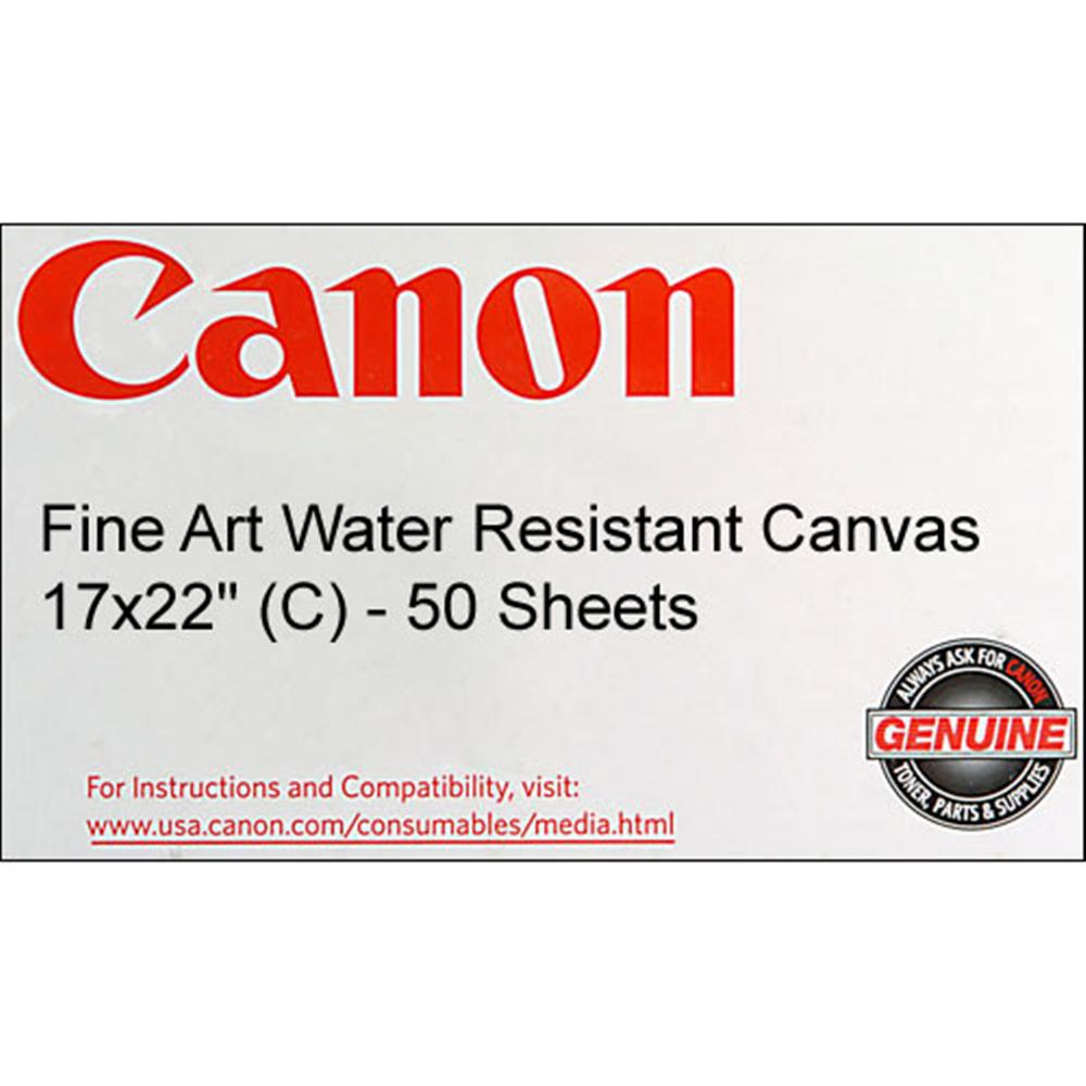 CANON FINE WATER RES. CANVAS 17X22/100SH