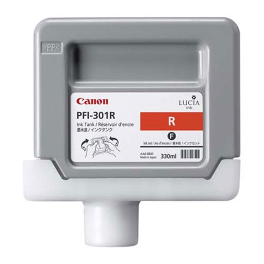 CANON RED INK 330ML PFI-301R