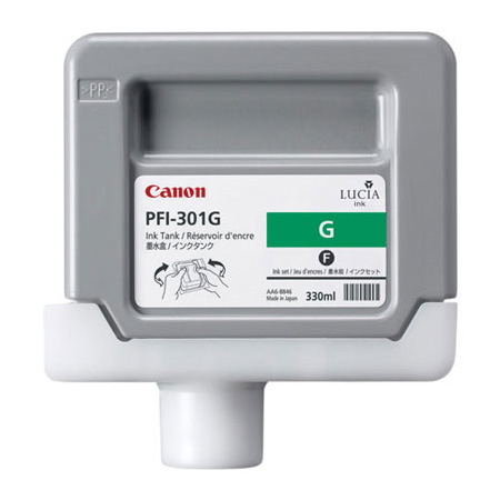 CANON GREEN INK 330ML PFI-301G