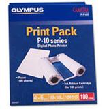 OLYMPUS P-P100W 4X6 PAPER P10/11