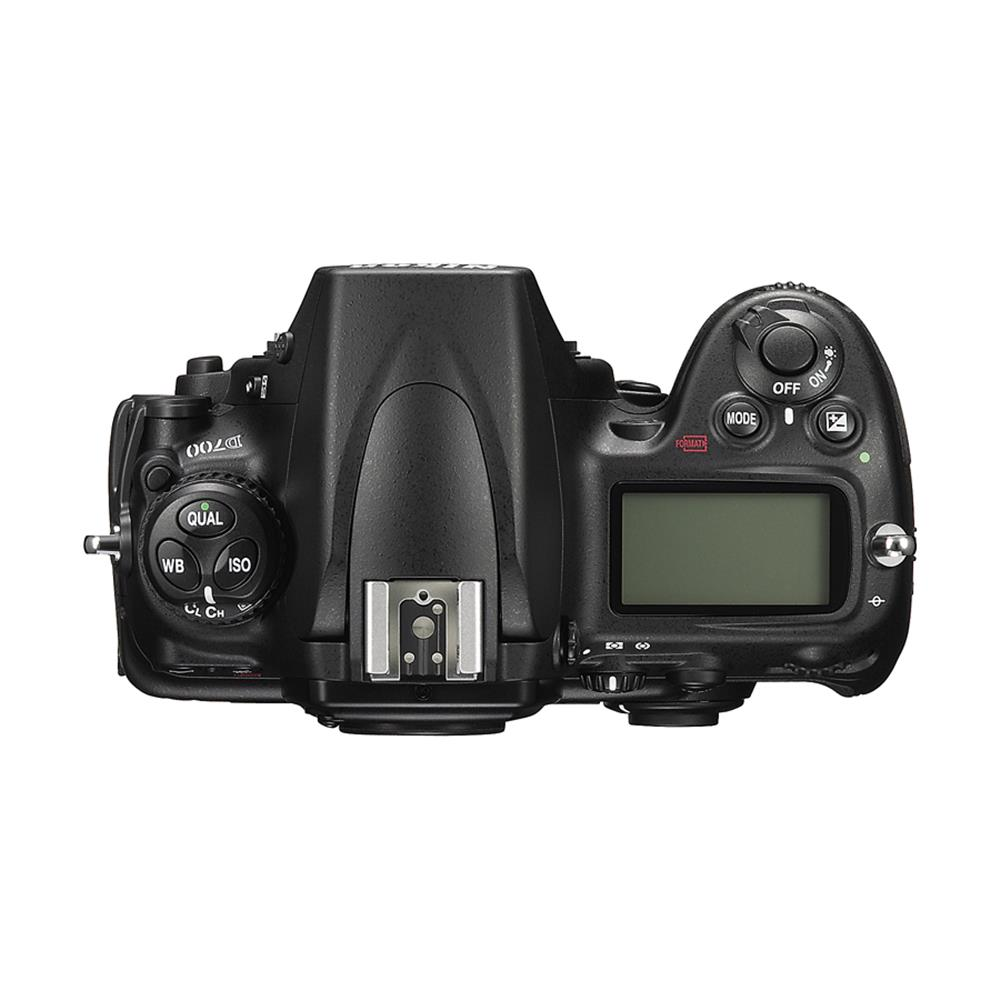 Nikon D700 Digital SLR Camera Top