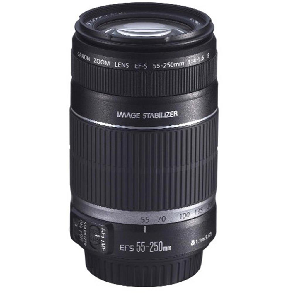 CANON EF-S 55-250MM 4-5.6 IS LENS