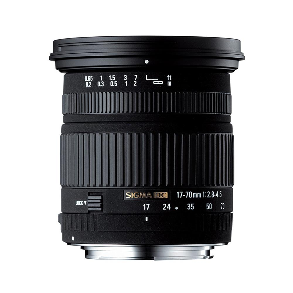 SIGMA 17-70MM DC 2.8-4.5 CANON LENS