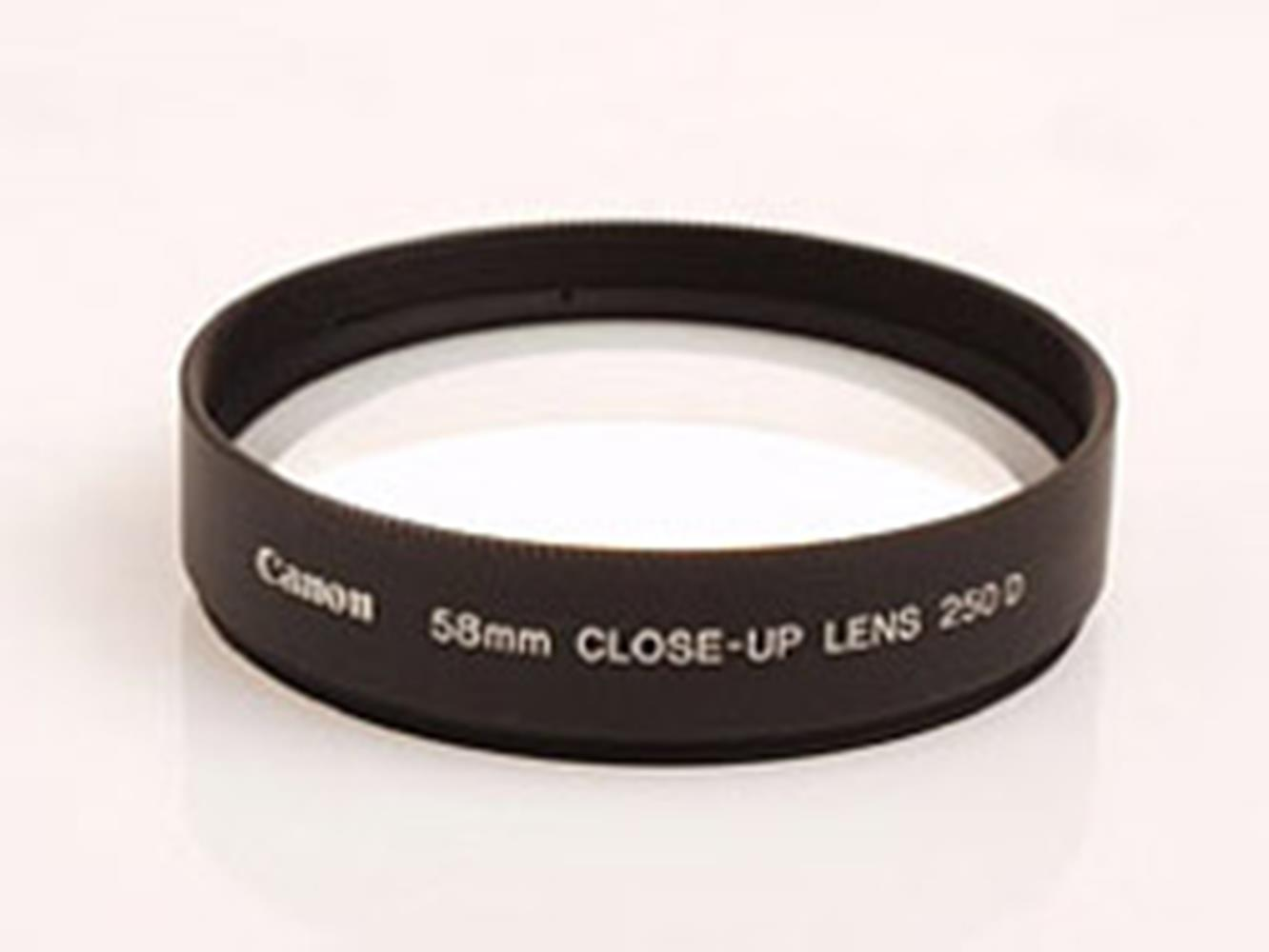 CANON 58MM CLOSE UP LENS 250D