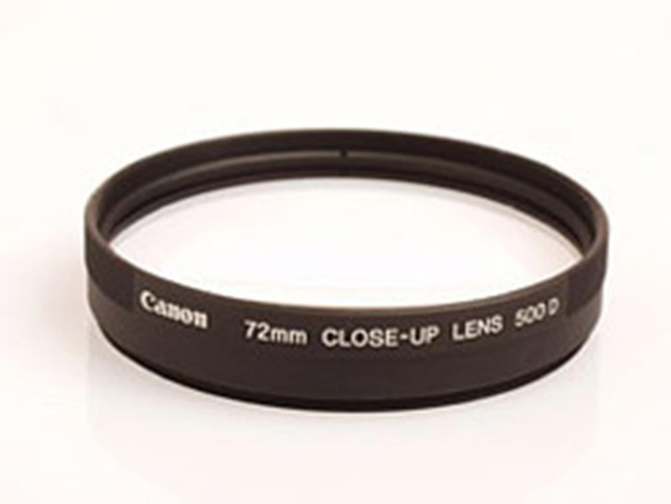 CANON 72MM CLOSE-UP LENS 500D