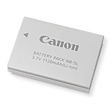CANON NB-5L LI-ION BATT/S110,S100,SX210